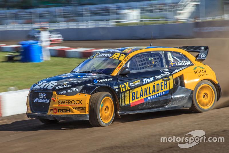 Робин Ларссон, Larsson Jernberg Racing Team Audi A1