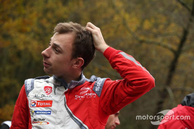 Stéphane Lefebvre, Gilles de Turckheim, Citroën DS3 WRC, Abu Dhabi Total World Rally Team