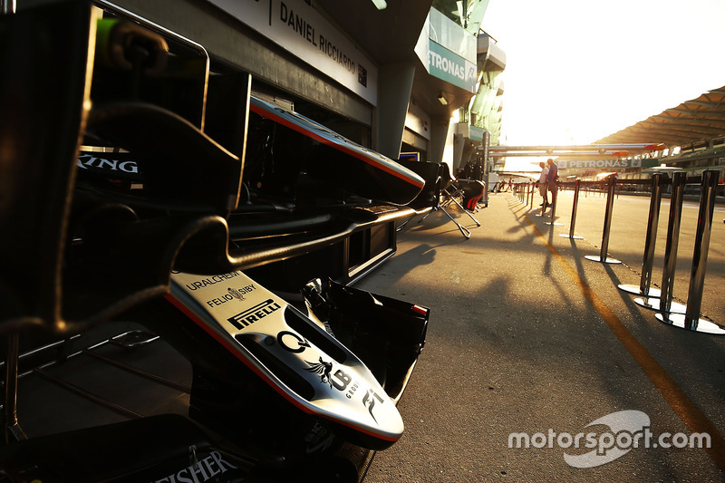 Sahara Force India F1 VJM09 nosecone