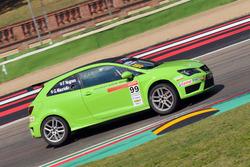 Seat Ibiza Cup #99, Gianluca Mauriello e Franco Nugnes - Direttore Motorsport.com Italia