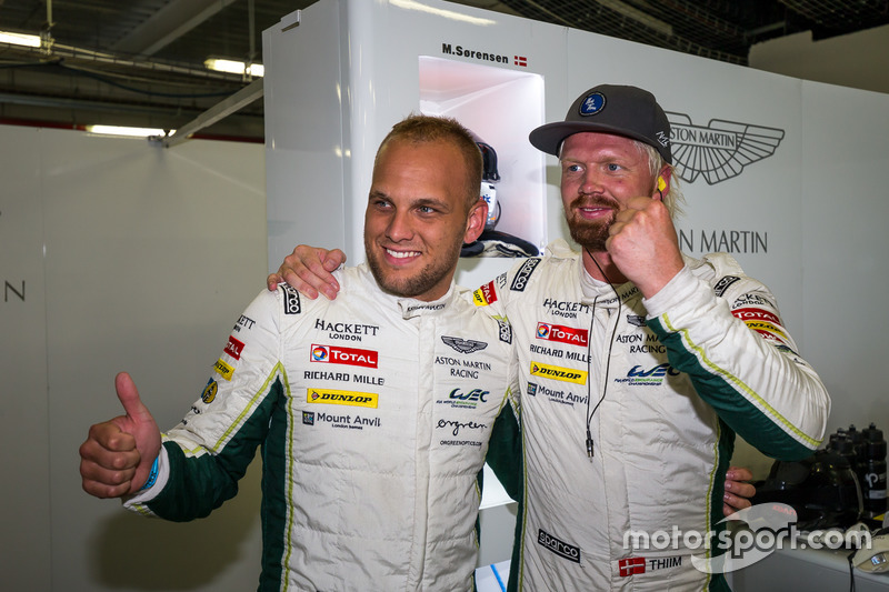 Pole GTE per la #95 Aston Martin Racing Aston Martin Vantage GTE: Marco Sorensen, Nicki Thiim