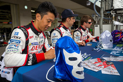 Toyota Racing: Sébastien Buemi, Kazuki Nakajima, Anthony Davidson