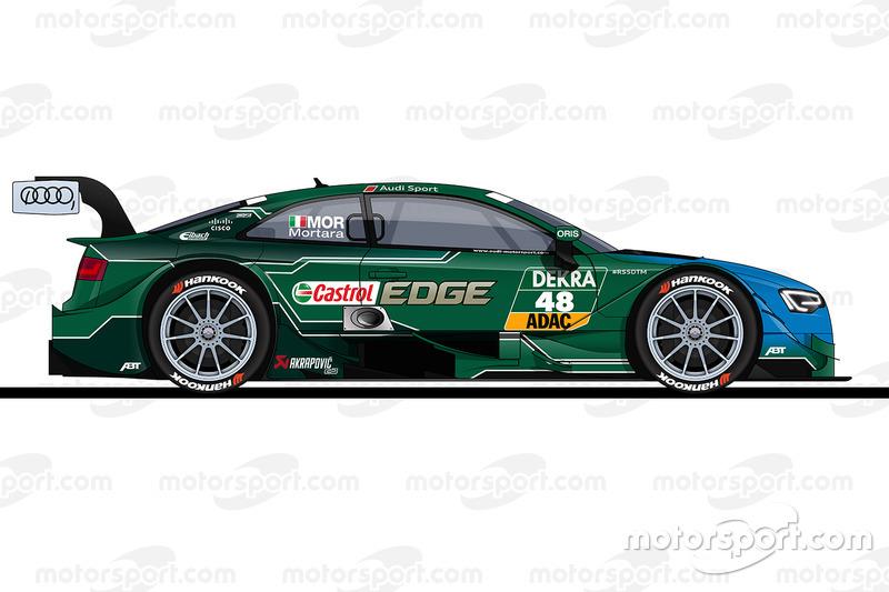 #48: Edoardo Mortara, Abt-Audi