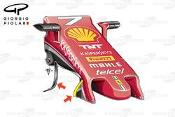 Ancien museau, Ferrari SF16-H, GP de Malaisie