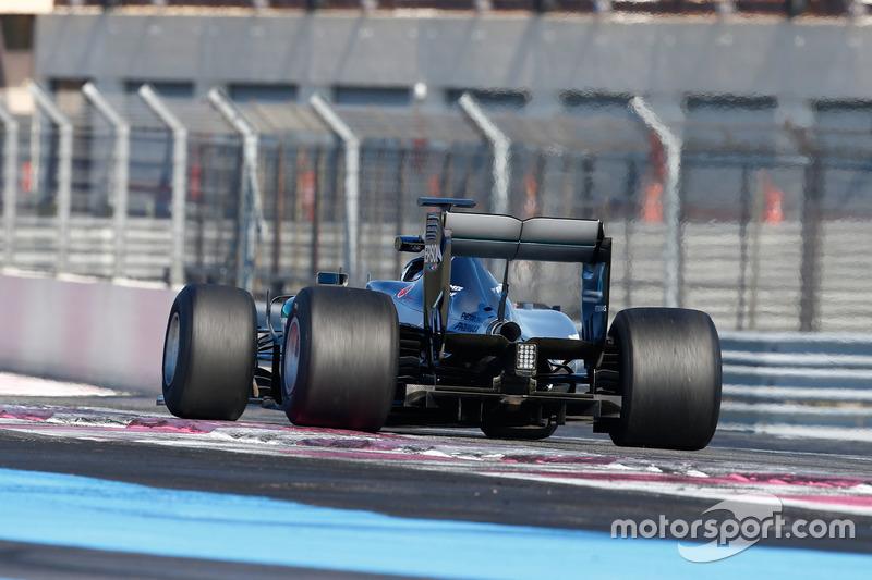 Паскаль Верляйн, Mercedes AMG F1 W07 Hybrid з гумою Pirelli 2017