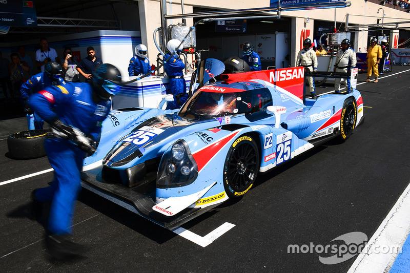 #25 Algarve Pro Racing Ligier JSP2 Nissan: Andrea Roda, Jonathan Hirschi, Andrea Pizzitola
