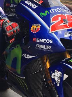 Alas internas Yamaha M1 MotoGP