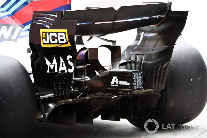 Arka kanat detay, Felipe Massa, Williams FW40