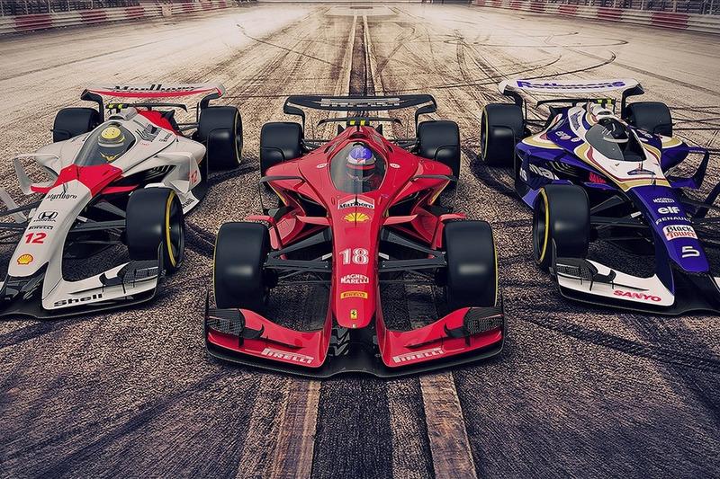 Ferrari, McLaren et Williams – 2025