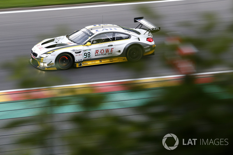 10. #98 Rowe Racing, BMW M6 GT3