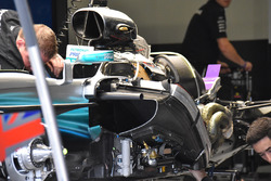 Mercedes F1 W08: Chassis