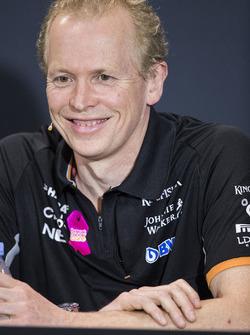 Технический директор Sahara Force India F1 Эндрю Грин