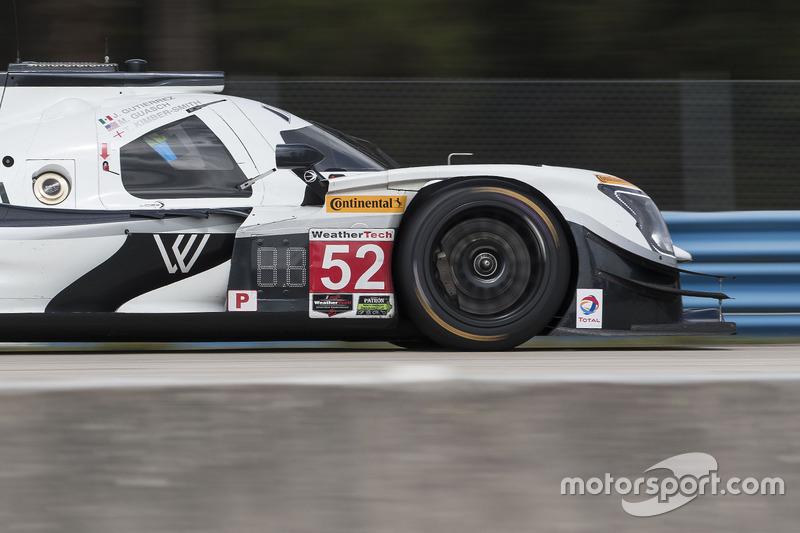 #52 PR1 Mathiasen Motorsports, Gibson Ligier JS P217: Michael Guasch, Jose Gutierrez, Olivier Pla
