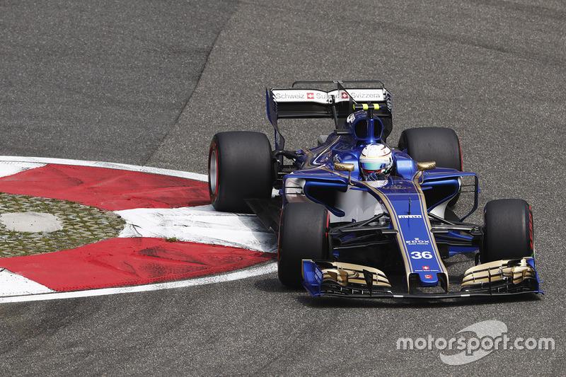 18: Антонио Джовинацци, Sauber C36