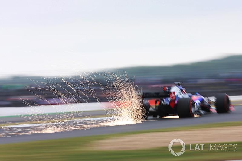 Funkenflug: Daniil Kvyat, Scuderia Scuderia Toro Rosso STR12