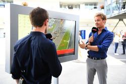 Anthony Davidson, Sky TV and Nico Rosberg, Mercedes-Benz Ambassador