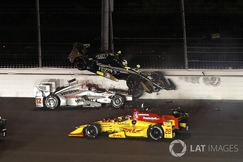 2. Ryan Hunter-Reay, Will Power e Ed Carpenter em Gateway