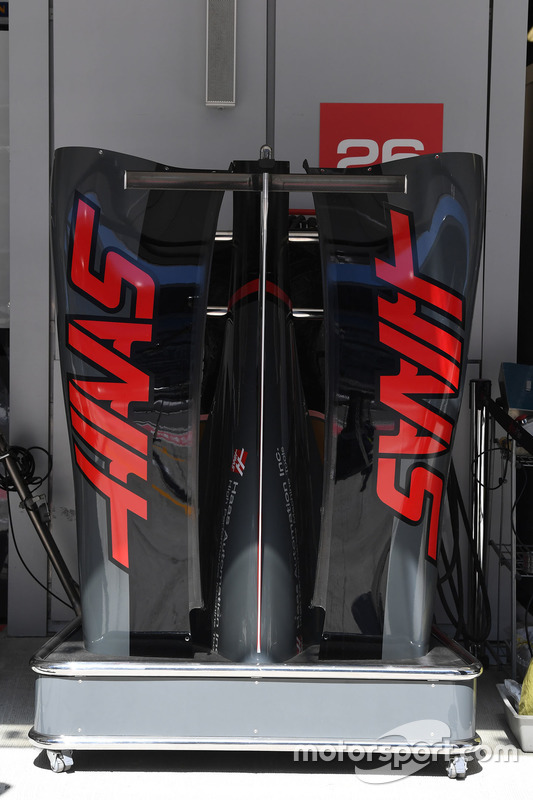 Haas F1 Team VF-17 bodywork