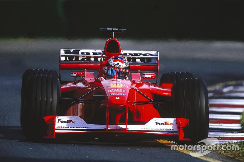 Michael Schumacher lors du GP d'Australie
