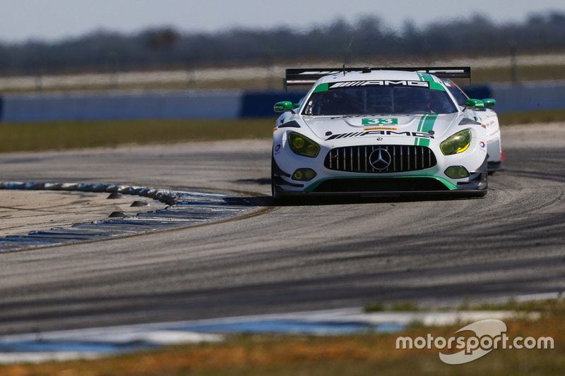 #33 Riley Motorsports, Mercedes AMG GT3: Jeroen Bleekemolen, Ben Keating, Mario Farnbacher