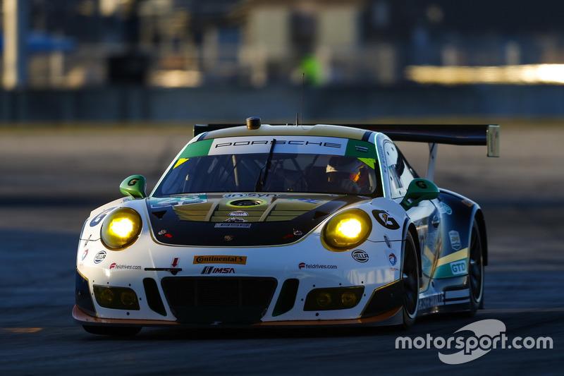 #28 Alegra Motorsports, Porsche 911 GT3 R: Daniel Morad, Michael de Quesada, Michael Christensen, Sp