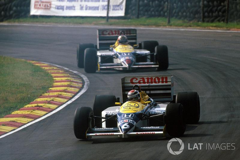 #18: Nelson Piquet, Williams FW11, Brands Hatch 1986: 1:06,961