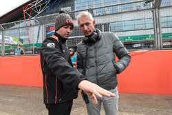 Matthieu Vaxiviere with the father of René Binder, Lotus