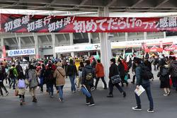 Atmosphäre am Eingang der Suzuka-Strecke