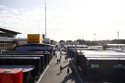 EL paddock en Barcelona
