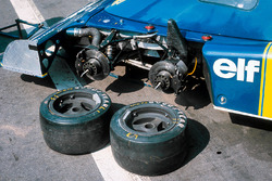 Die Vorderräder des Tyrrell P34, Ford