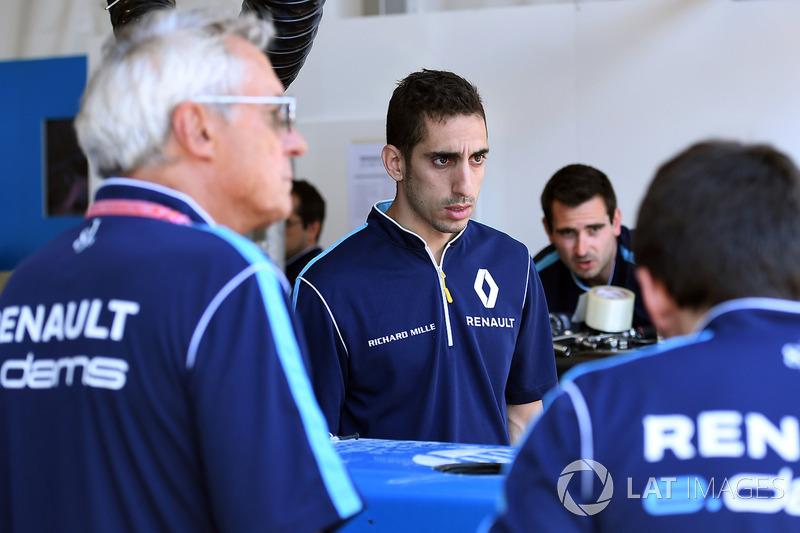 Jean Paul Driot and Sébastien Buemi, Renault e.Dams
