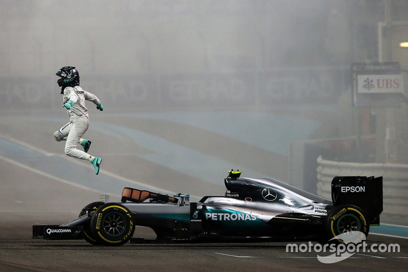 2016赛季阿布扎比大奖赛:世界冠军