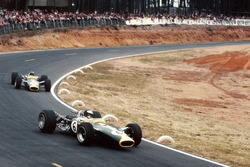 Jim Clark, Team Lotus 49 Ford, Graham Hill, Team Lotus 49 Ford