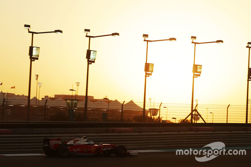 Sebastian Vettel, tercer clasificado