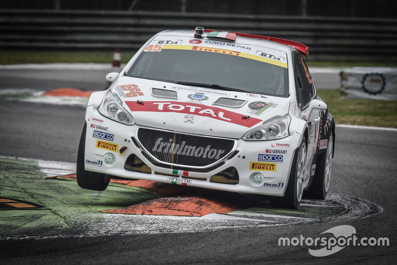 Giuseppe Testa, Daniele Mangiarotti, Peugeot 208 T16