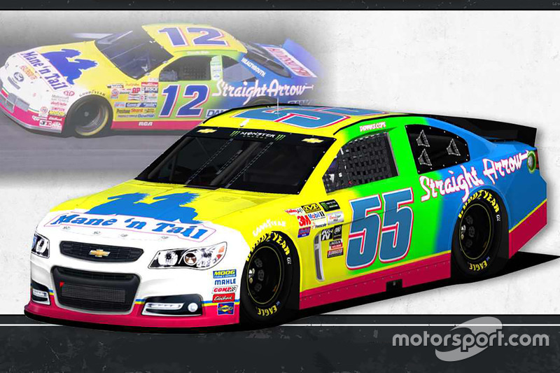 Throwback-Design: Derrike Cope, Premium Motorsports Chevrolet