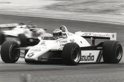 Der Sieger von Dijon – Den GP Schweiz 1982 in Dijon-Prenois gewann der Finne Keke Rosberg auf dem Williams FW 08-Cosworth mit Dreiliter-V8-Motor