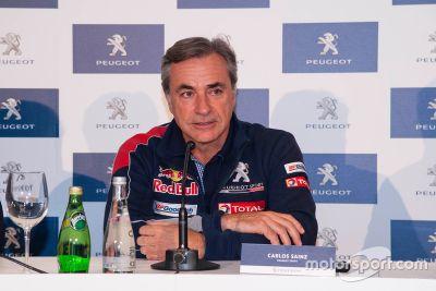 Presentación Carlos Sainz Dakar