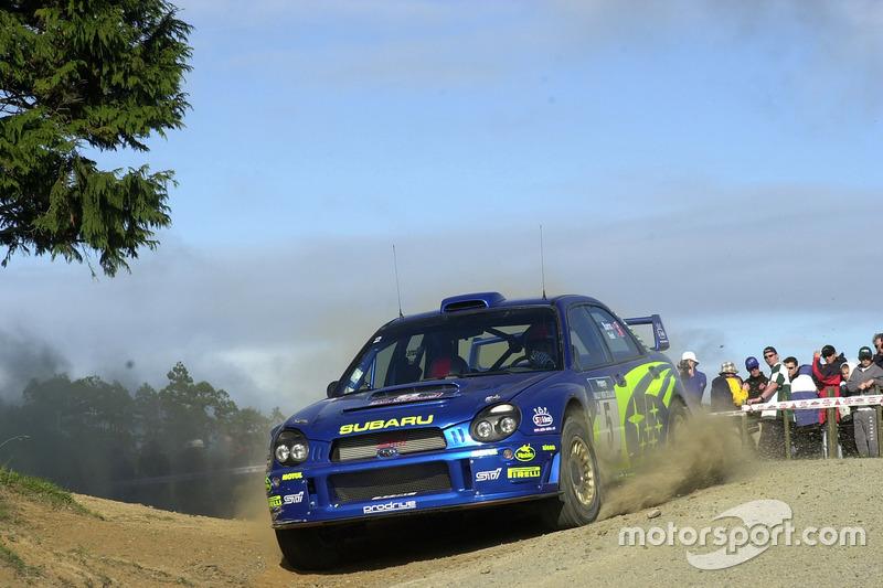 2001: Richard Burns, Subaru Impreza WRC