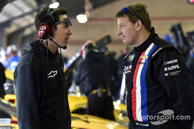 Michael McDowell, Leavine Family Racing, Chevrolet, mit Jon Leonard