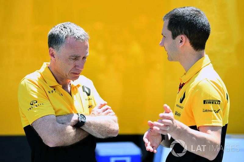 Bob Bel y Remi Taffin, Renault Sport F1