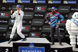 Podium: Giacomo Altoè, M1RA, Honda Civic TCR, Stefano Comini, Comtoyou Racing, Audi RS3 LMS