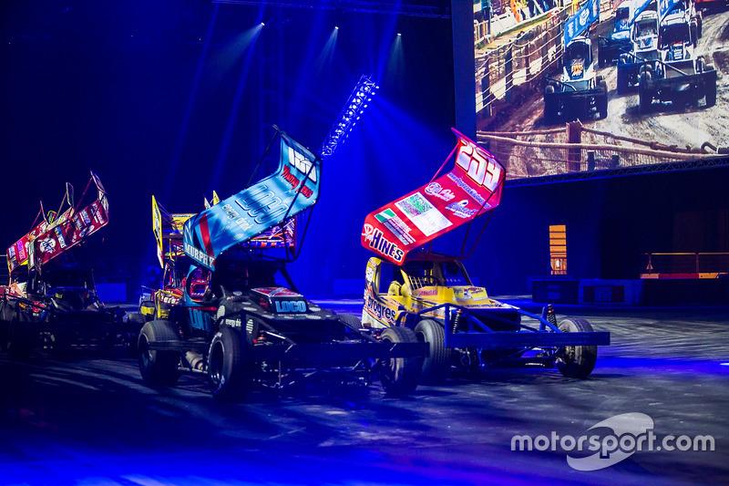 Stock car racing in de Live Action Arena