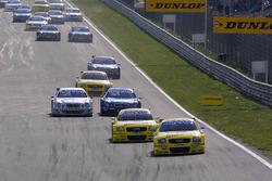 Acción en la salida, Christian Abt y Mattias Ekstrom, Abt Audi TT-R
