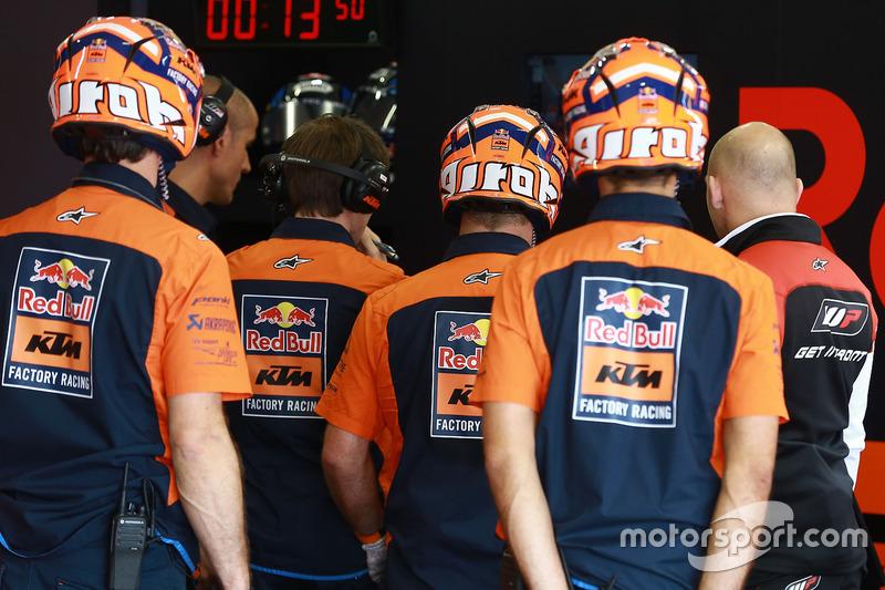 Mechaniker: Red Bull KTM Factory Racing