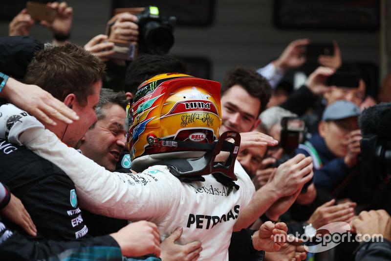 54- Gran Premio de China 2017, Mercedes
