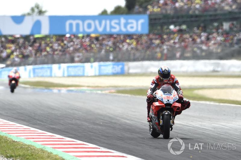 17: Переможець Гран Прі Каталонії 2018 року: Хорхе Лоренсо, Ducati Team
