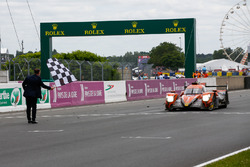 #26 G-Drive Racing Oreca 07 Gibson: Roman Rusinov, Andrea Pizzitola, Jean-Eric Vergne, takes the checkered flag and finishes 1st in the LMP2 category
