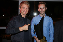Nico Rosberg con René Rast, Audi Sport Team Rosberg
