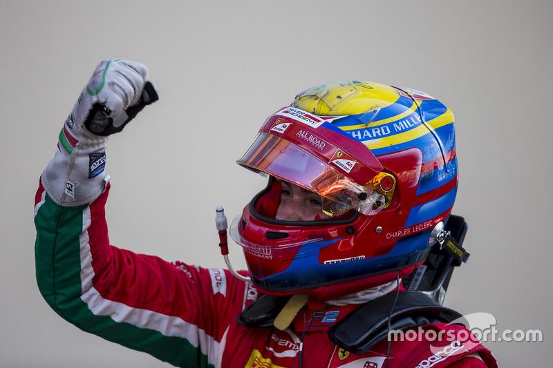 Yarış galibi Charles Leclerc, PREMA Powerteam